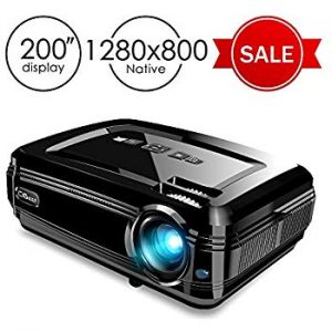 (Best Projector Under $200) CiBest BL58 LED Projector