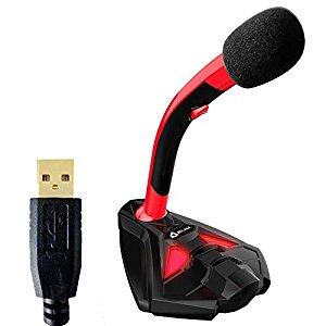 (Best Microphones For PS4) KLIM Voice Desktop USB Microphone