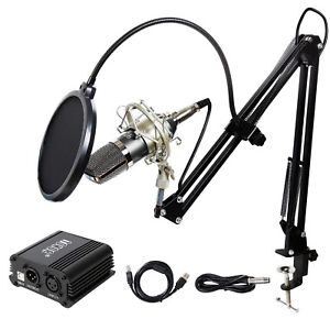 (best condenser microphones under $200) TONOR TN562BL Microphone
