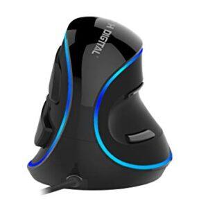 (Best Ergonomic Mouse) J-Tech Digital V628P USB Mouse