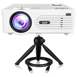 QKK 2400Lumens Mini Projector